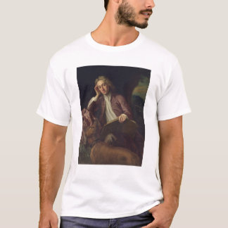 Alexander Pope and his dog, Bounce, c.1718 T-Shirt