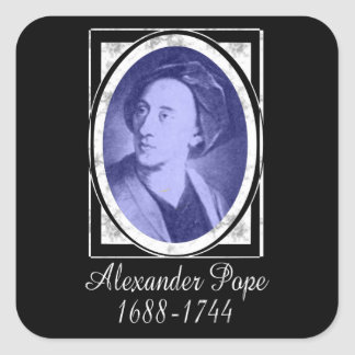 Alexander Pope Stickers