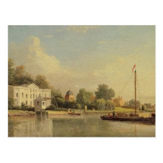 Alexander Pope's (1688-1744) Villa, Twickenham, c. Postcard