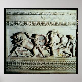 Alexander Sarcophagus Poster