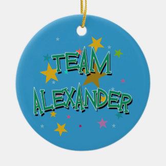 ALEXANDER Team Alexander Round Ceramic Decoration