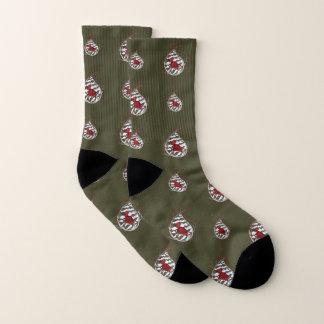 Alexander the Cardinal Socks 1