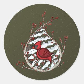 Alexander the Cardinal Sticker