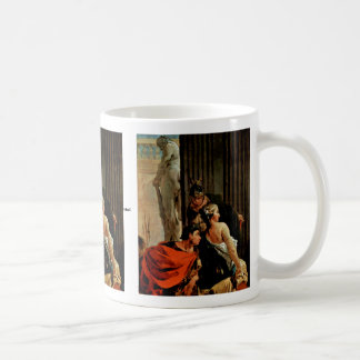 Alexander The Great And Campaspe Classic White Coffee Mug