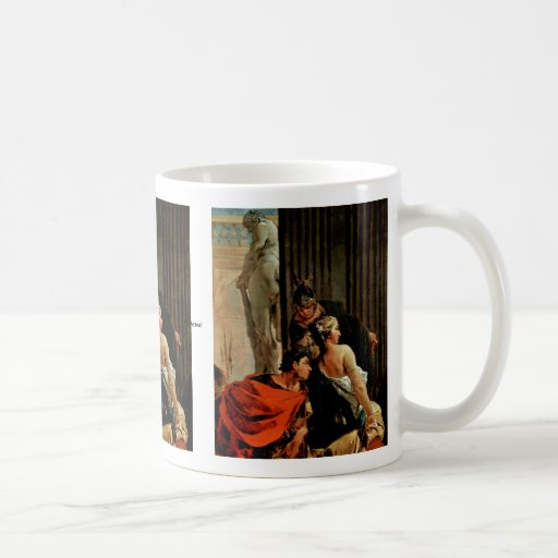 Alexander The Great And Campaspe Mugs