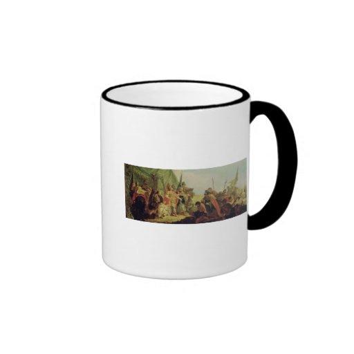 Alexander the Great  and Porus Mug