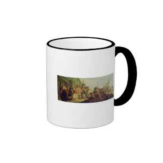 Alexander the Great  and Porus Ringer Mug