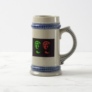 Alexander the Great Collage Beer Steins