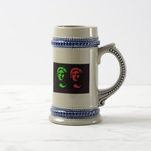 Alexander the Great Collage Coffee Mugs