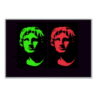 Alexander the Great Collage Poster