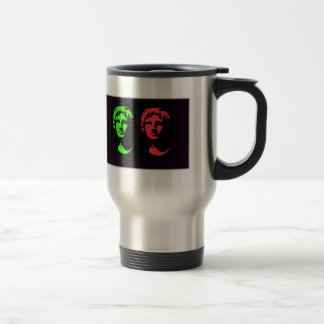 Alexander the Great Collage Stainless Steel Travel Mug