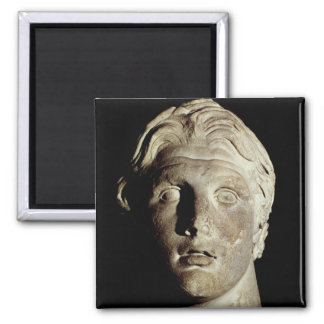 Alexander the Great , found in Pergamum Square Magnet