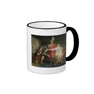 Alexander the Great  Hands Over Campaspe Ringer Mug