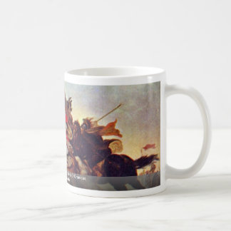 Alexander The Great In The Battle Of Granicus Basic White Mug
