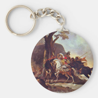Alexander The Great In The Battle Of Granicus Key Ring