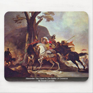 Alexander The Great In The Battle Of Granicus Mouse Mat