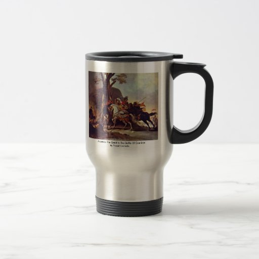 Alexander The Great In The Battle Of Granicus Coffee Mugs