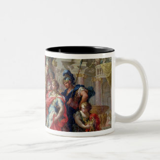 Alexander the Great in the Temple of Jerusalem Two-Tone Mug