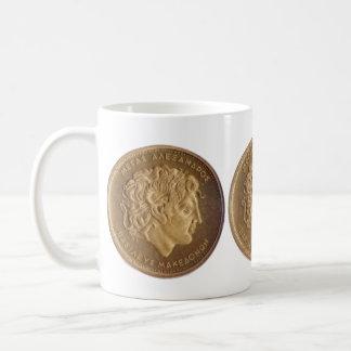 Alexander the Great, king of Macedonians Classic White Coffee Mug
