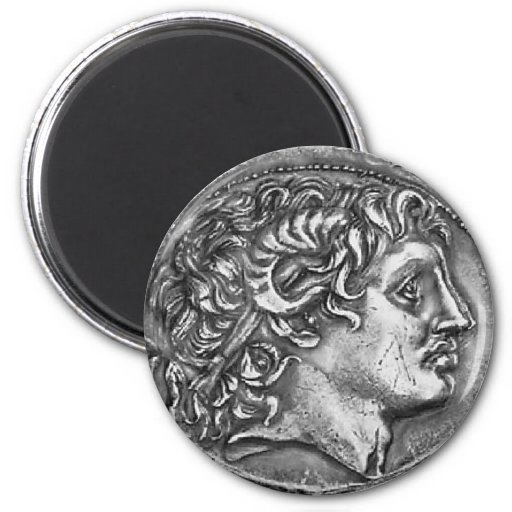 Alexander the Great Refrigerator Magnets