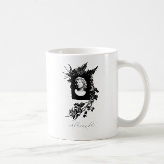 alexander the great classic white coffee mug