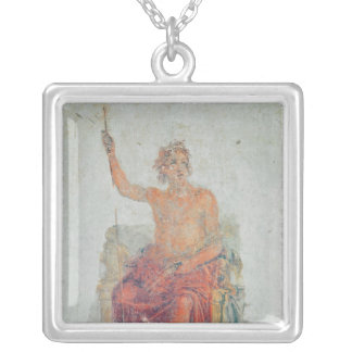 Alexander the Great, possibly as Zeus Silver Plated Necklace