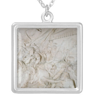 Alexander the Great Silver Plated Necklace