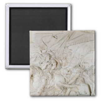 Alexander the Great Square Magnet