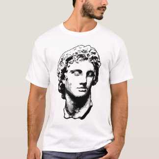 Alexander the Great statue T-Shirt