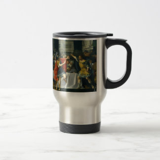 Alexander the Great Threatened by His Father Stainless Steel Travel Mug