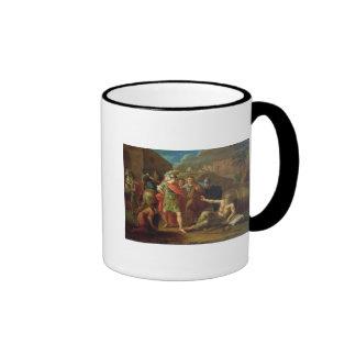 Alexander the Great visits Diogenes at Corinth Ringer Mug