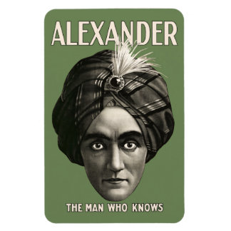 Alexander - The Man Who Knows - Magnet