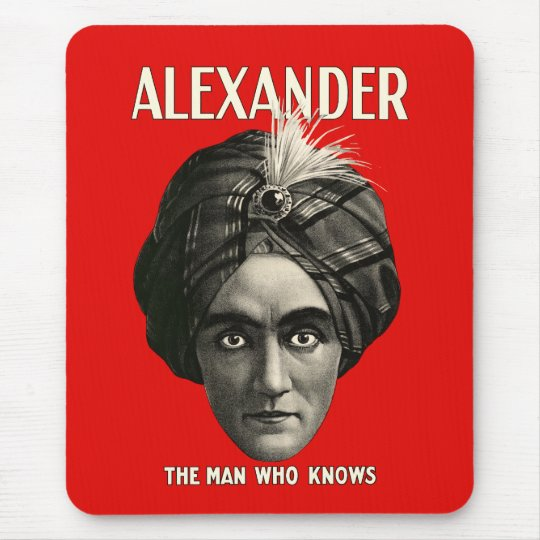 Alexander - The Man Who Knows Mouse Mat