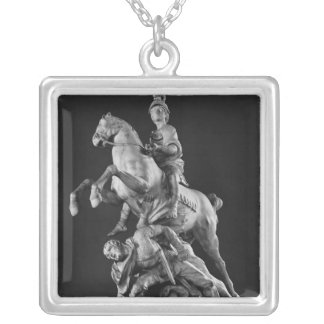 Alexander Victorious, after 1683 Silver Plated Necklace