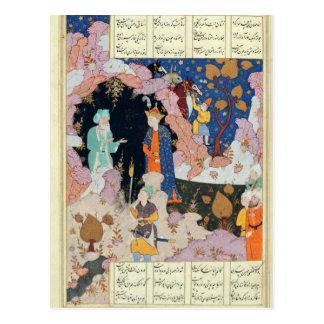 Alexander Visits a Hermit Postcard