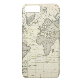 Alexander von Humboldt's system isothermal curves iPhone 8 Plus/7 Plus Case