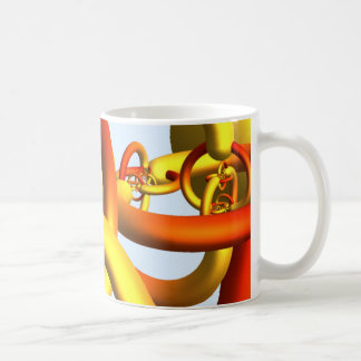 Alexander's Horned Sphere Mug - Warm Colors