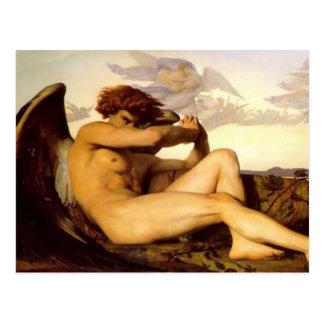 Alexandre Cabanel - Fallen Angel Postcard