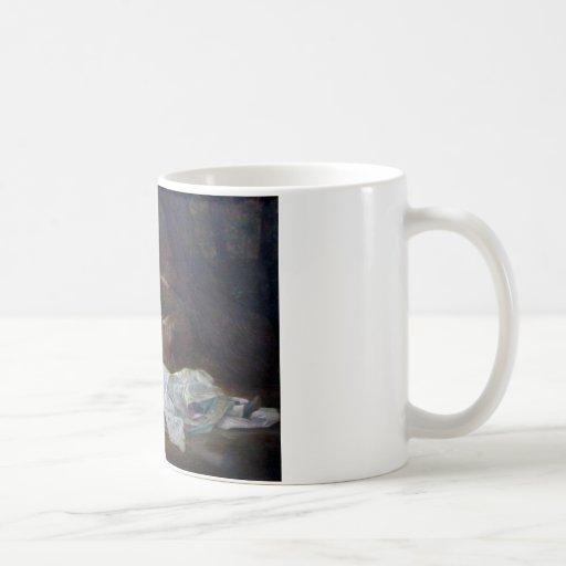 Alexandre Cabanel - Ophelia Basic White Mug