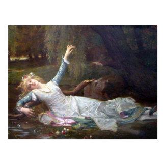 Alexandre Cabanel - Ophelia Postcards