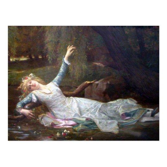 Alexandre Cabanel - Ophelia Postcard