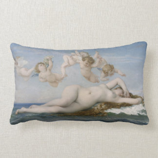 Alexandre Cabanel The Birth of Venus Lumbar Cushion