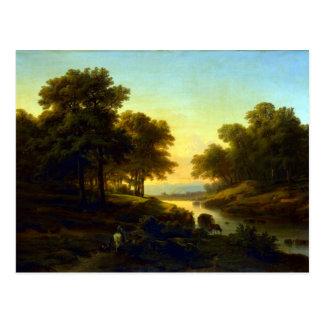 Alexandre Calame Landscape Postcard