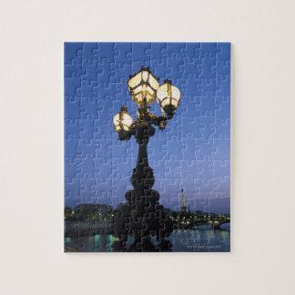 Alexandre III Bridge in Paris Jigsaw Puzzle