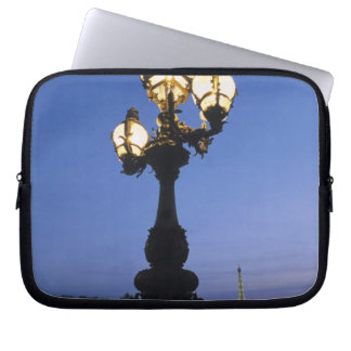 Alexandre III Bridge in Paris Laptop Sleeve