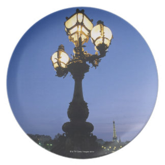 Alexandre III Bridge in Paris Plate