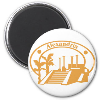 Alexandria Stamp Magnets