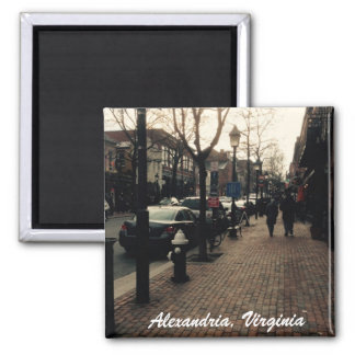 Alexandria Street Photo magnet