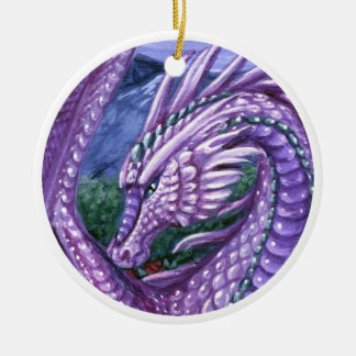 Alexandrite Dragon Ornament