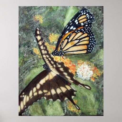 Alexa's Butterflies Poster
